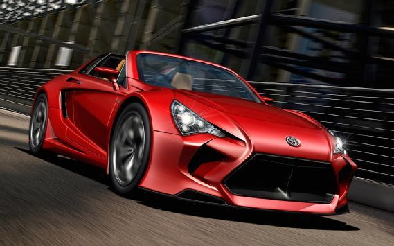 Toyota Supra Successor...  Worst design ever. Looks like a rolling piece of shit. More like a new mr2