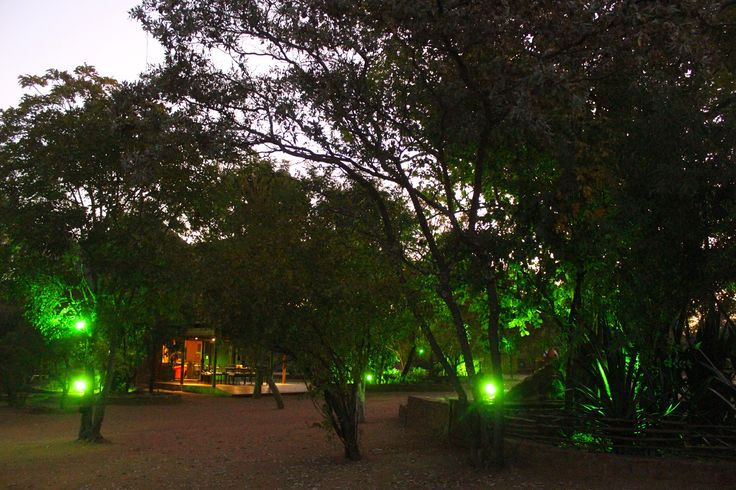 The Main House by night - SAFARI by DIMA BUSH CAMP  Lodge - Accomodation for Holidays