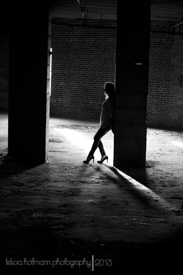 Model photography Abandoned warehouse  York PA #feliciahoffmannphotography