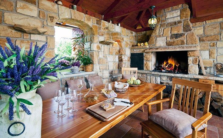 Garden house  - outdoor kitchen