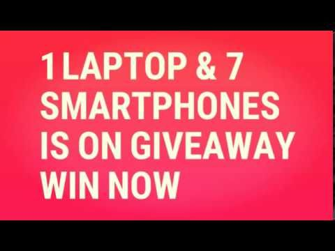 1 HP LAPTOP & 7 SMARTPHONE IS ON GIVEAWAY IN INDIA WIN NOW!