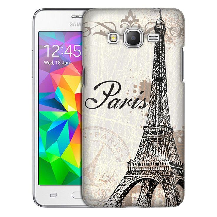 Samsung Grand Prime Vintage Paris Slim Case