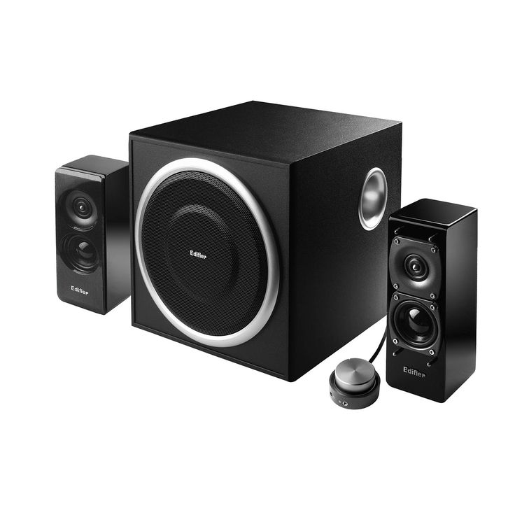 Edifier S330D 2.1 speaker system with 6.5 inch dual voicecoil subwoofer | edifier.us.com | $199.99