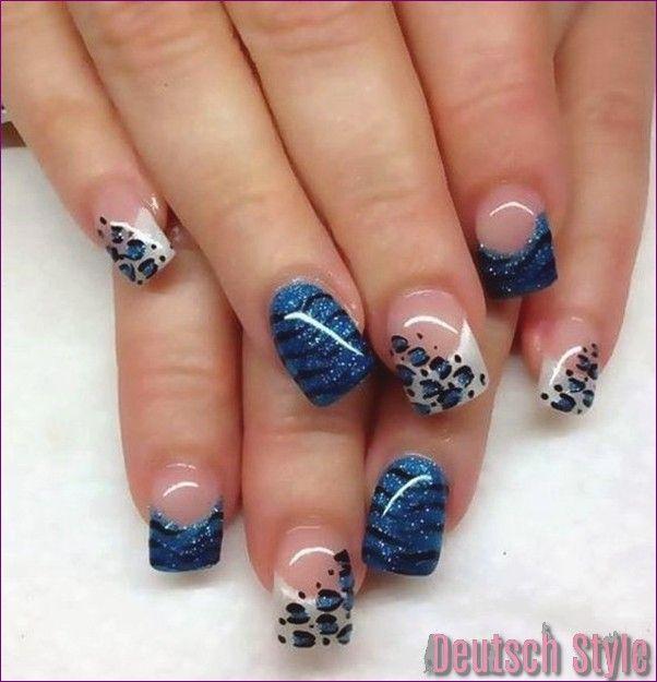 45 Stilvolle Leopard-Drucke Nail Art für die Vogue