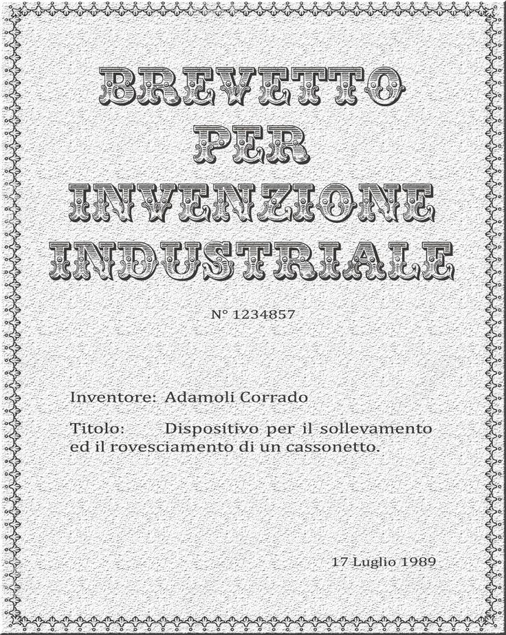 #Third #Patent for #industrial #invention: Device for #lifting and #tipping a #dumpster  #Terzo #Brevetto per #invenzione #industriale: Dispositivo per il #sollevamento ed il #rovesciamento di un #cassonetto  Info: commerciale@adamoli.it
