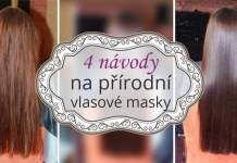 4 Návody na přírodní vlasové masky pro lesklé a zdravé vlasy