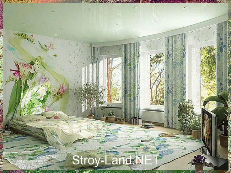 Зеленая спальня - Фото 11