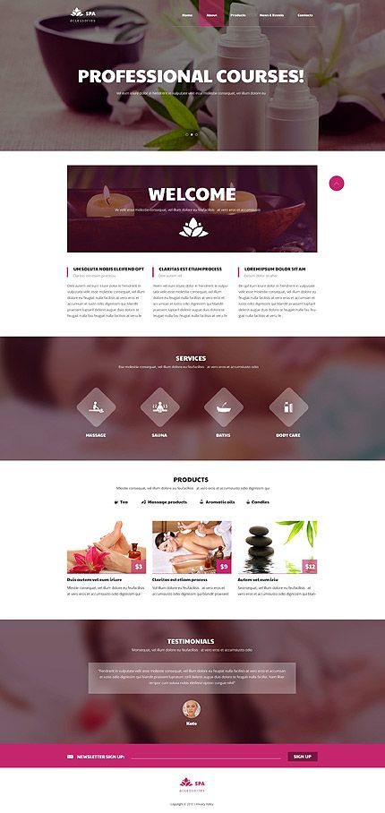 Online Professional Courses #website #template. #themes #business #responsive