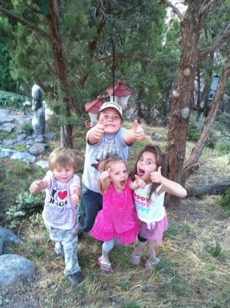 thumbs up dude- shaytards kids (sontard, princesstard, babytard, And cooper