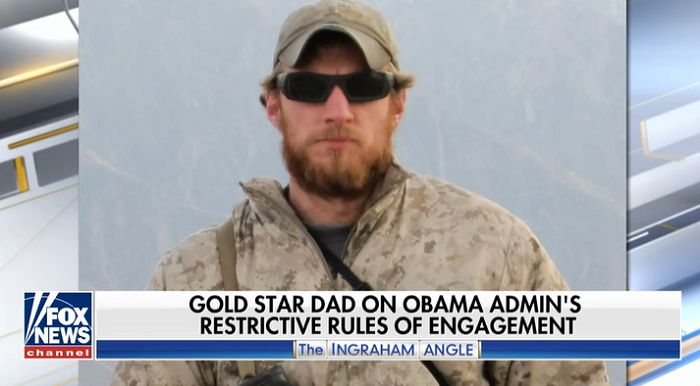 Billy Vaughn, father of fallen Navy SEAL Aaron Vaughn, heaped praise upon President Trump for his efforts to disband the Obama era rules of engagement on the battlefield, freeing up military members on the ground to make their own decisions.