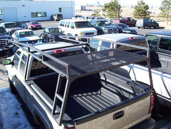 Custom Racks For Your Topper Truck Colminn X Custom Truck Racks In Denver In 2020 Custom Trucks Truck Roof Rack Trucks
