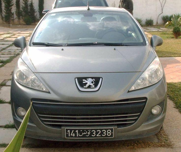 Annonce de vente de voiture occasion en tunisie PEUGEOT 207 CC Nabeul