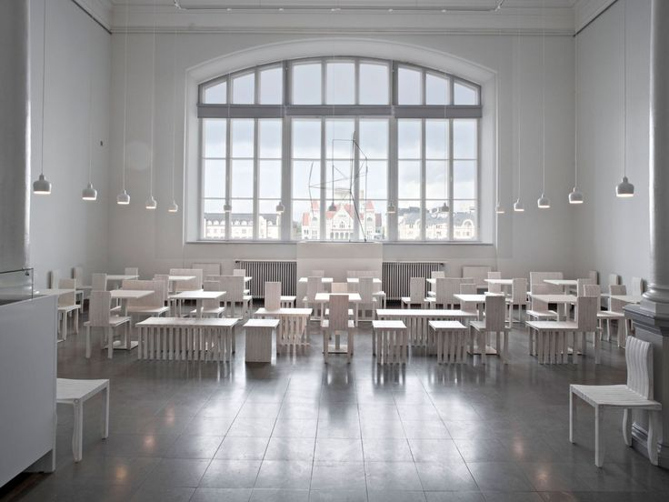 Artek - Projektit - Projektit - Cafe Cubus Ateneum, Helsinki Finland