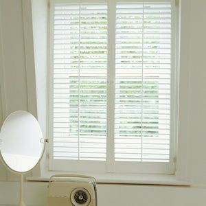 New England Plantation Shutters: Full height 47mm blades painted