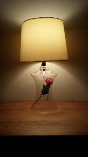 Beauty And The Beast Inspired Lamp Diy Disney Decor