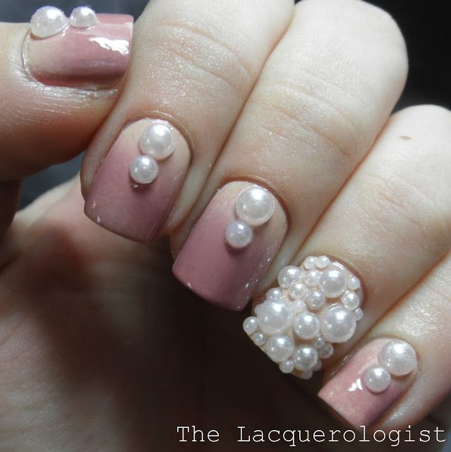 Best 25 pearl nail art ideas on pinterest spring 2017 nails the lacquerologist classy pearl nail art featuring tmart prinsesfo Image collections
