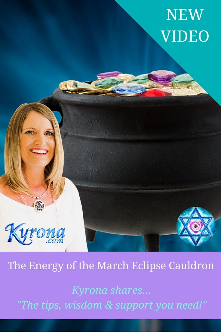 Kyrona reveals the energy & intent of the March 2016 Eclipse Season or Cauldron. Discover HOW IT MAY IMPACT YOU, access PRACTICAL TIPS & POTENT HEALING TOOLS to SUPPORT you to prepare & navigate this time. You can minimise challenges & maximise the potential of this amazing initiatory gateway! The power of Celestial Resonance Living Light Language and Star Temple technology is freely available to support you like never before! #MarchEclipse, #March2016Eclipses, #March2016SolarEclipse…