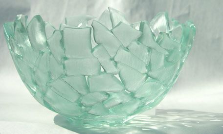 glass shards found via google image search - don't know who the artist is.