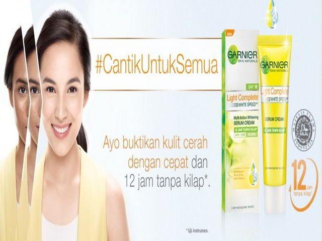 Sample Gratis Produk Garnier Light Complete White Speed - Hallo sobat Mister Kuis semuanya, Clozette Indonesia sebelumnya pernah bagi-bagi sample gratis