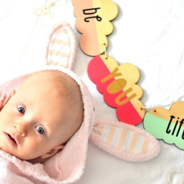 This sweet little Bunny... ☀️ #clouds #garland #woodgarland #wood #wooddecor #wooddecoration #sunnybunny #sunnybunnykid #baby #nursery #nurserydecor #kids #kidsroom #etsy ##etsyshop #etsyseller #etsygifts #babyshower #birthday #decoration #party #beyoutiful