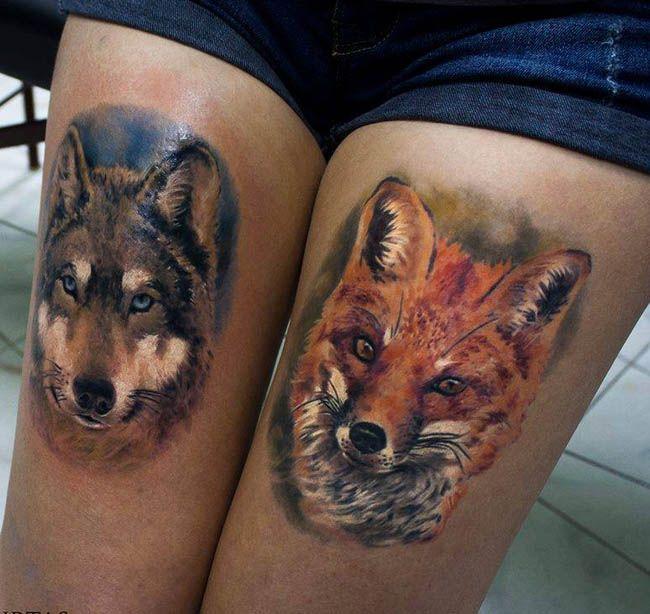 41 best images about mejores tatuajes de lobos on pinterest - Dibujos tribales para tatuar ...