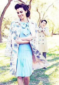 Lauren Cohan & Steven Yeun