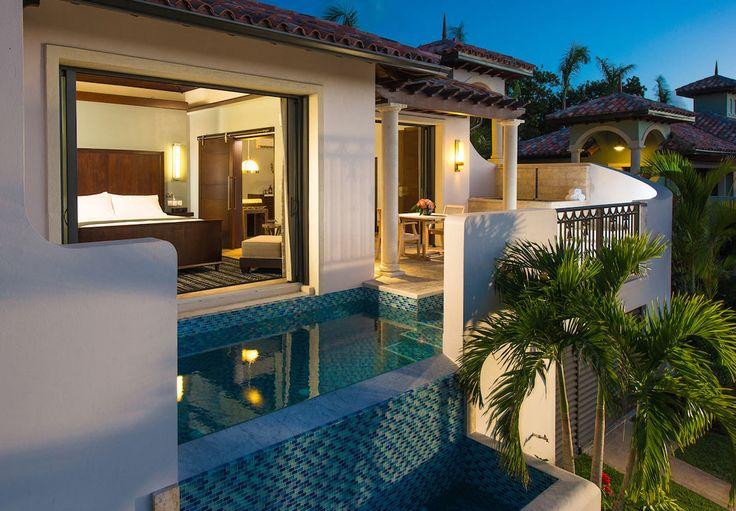 South Seas One Bedroom Butler Suite with Infinity Edge Pool | Sandals Resorts | Grenada