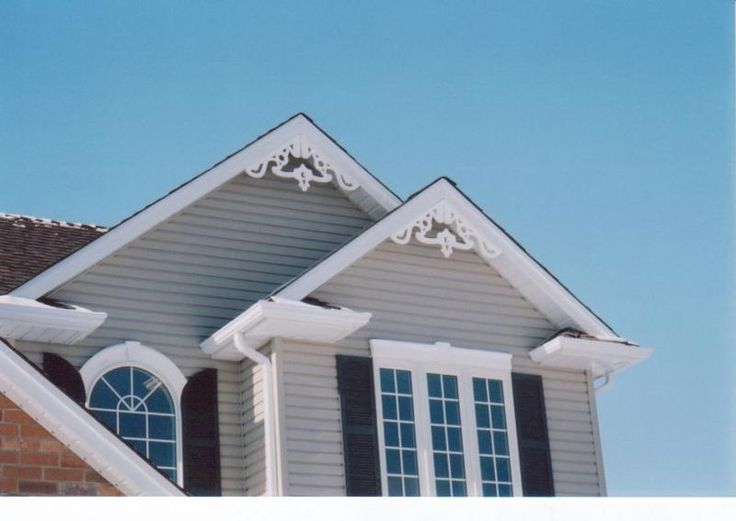 17 best images about exterior details on pinterest Gable accents