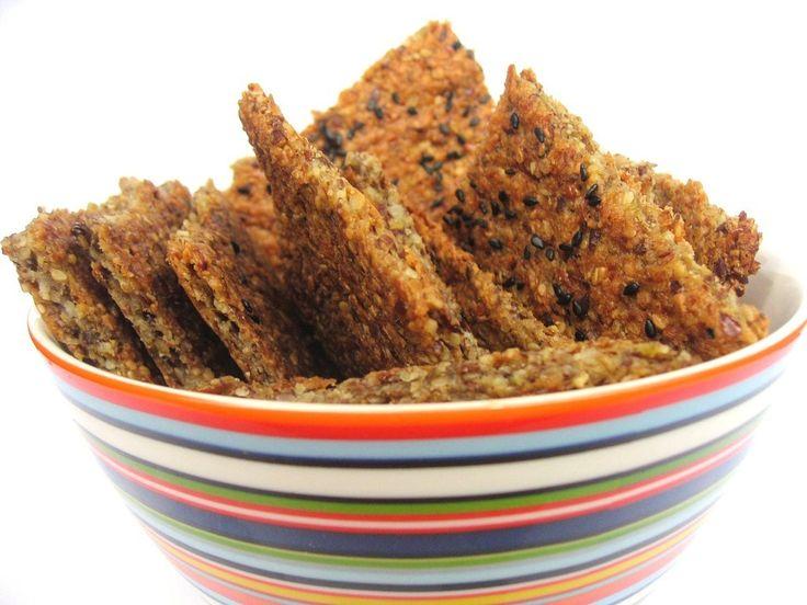 Idemagasinets oppskrift på enkle glutenfrie knekkebrød