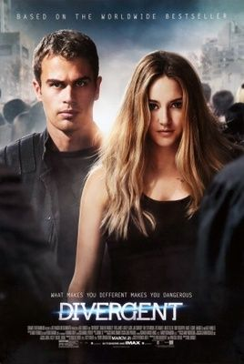 Divergent (2014) movie #poster, #tshirt, #mousepad, #movieposters2
