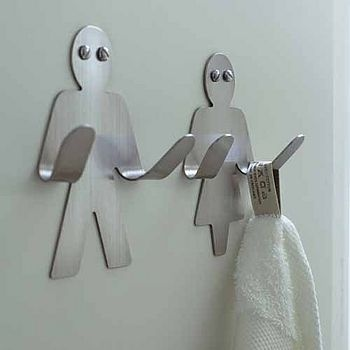 Cute his and hers hooks