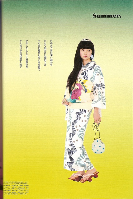 Kimono-hime issue 10. Fashion shoot page 6 by Satomi Grim, via Flickr