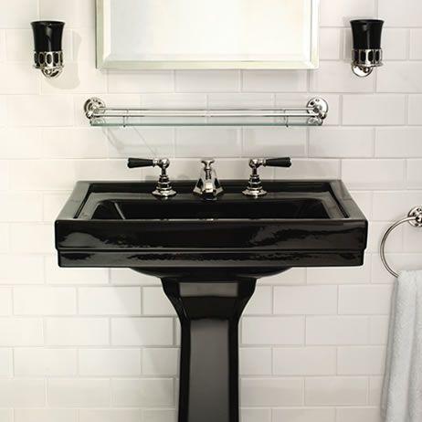 1900 Classic Black Product Ranges Lefroy Brooks Uk Europe Toilet Bathroom Black Sink