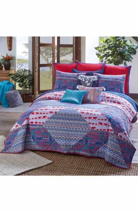 Resultado de imagen de blue and orange quilt