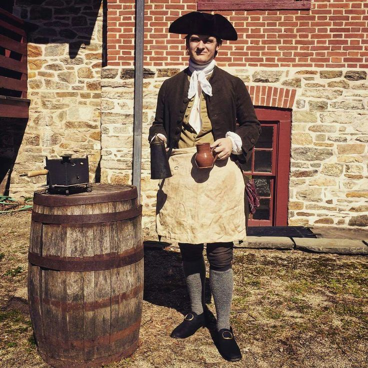 Tavern Keeper, 1776. | Historical Interpreters, 1775-1783 ...