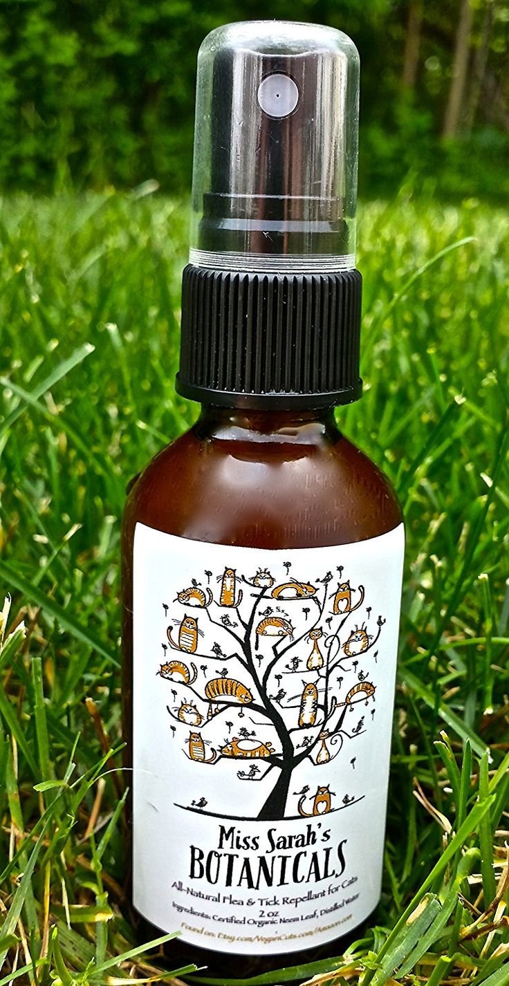 Certified Organic Neem Tea Flea and Tick Repellant Spray