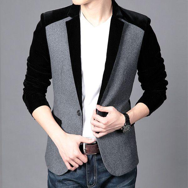 Men's Velvet Blazer Slim Fit Viktor