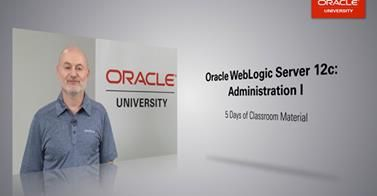 Thinking about WebLogic Server 12c? Find out what you will learn in our new Oracle WebLogic Server 12c: Administration I course. Also available On Demand.