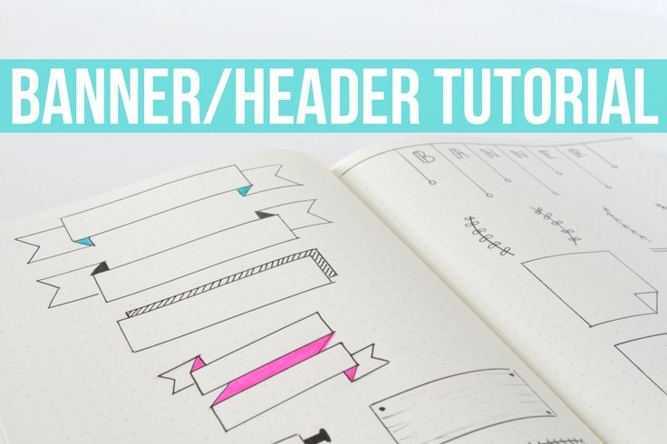 Today I'm sharing some easy banner and header tutorials that are perfect for bullet journaling! Hope you guys enjoy :) PRODUCTS MENTIONED IN THIS VIDEO... Le...