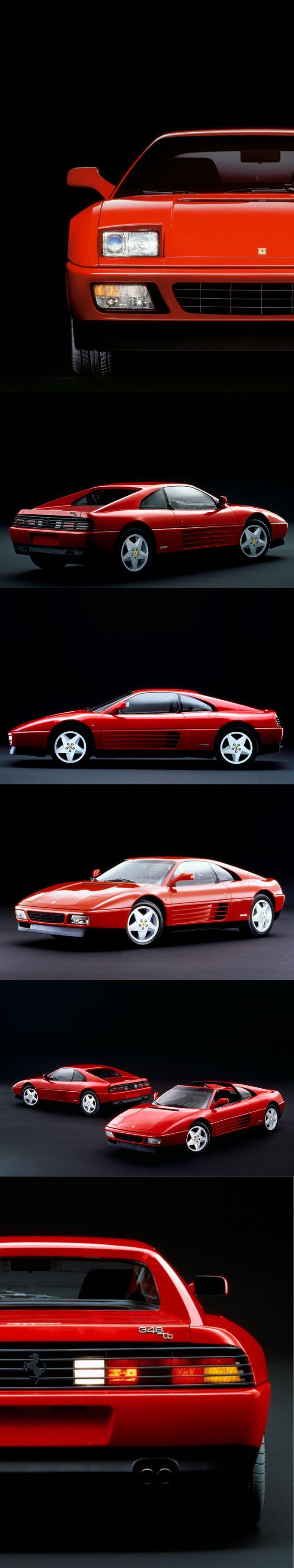 1989 Ferrari 348 TB / 348 TS / 300hp V8 / Pininfarina / Italy / red