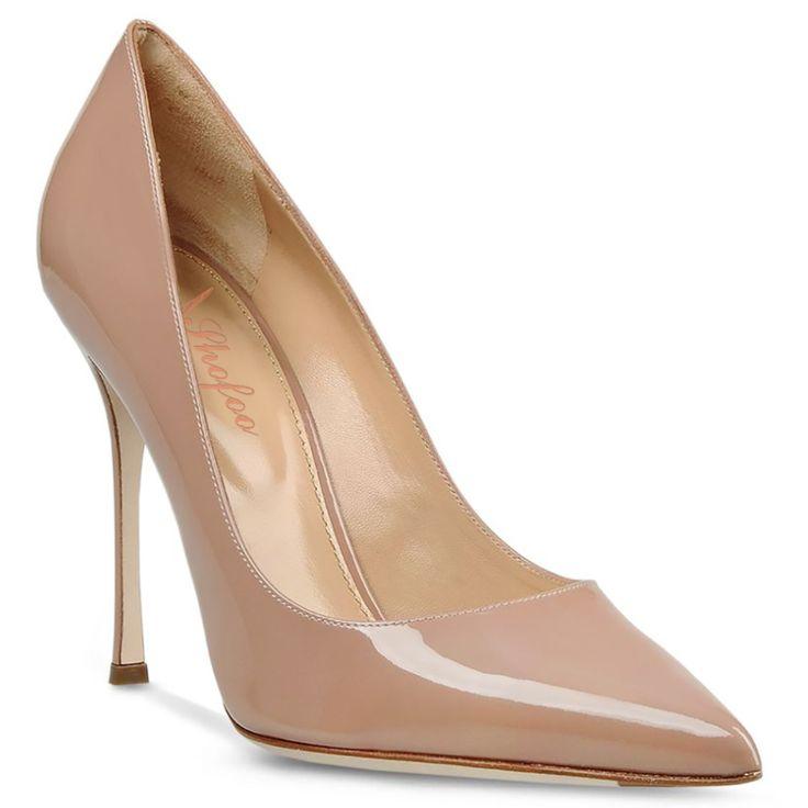 Dame Mode Schuhe Frauen Nude & Blau Punkt Toe Sexy High Heels Kleid & Party & Hochzeit Plattformen Pumpt 15 CM //Price: $US $47.00 & FREE Shipping //     #clknetwork
