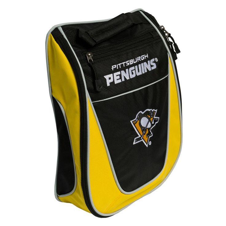 Team Golf Pittsburgh Penguins Golf Shoe Bag, Multicolor