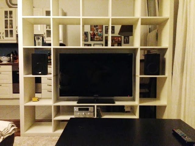 Turn your EXPEDIT 5×5 into a TV-Center | IKEA Hackers Clever ideas and hacks for your IKEA