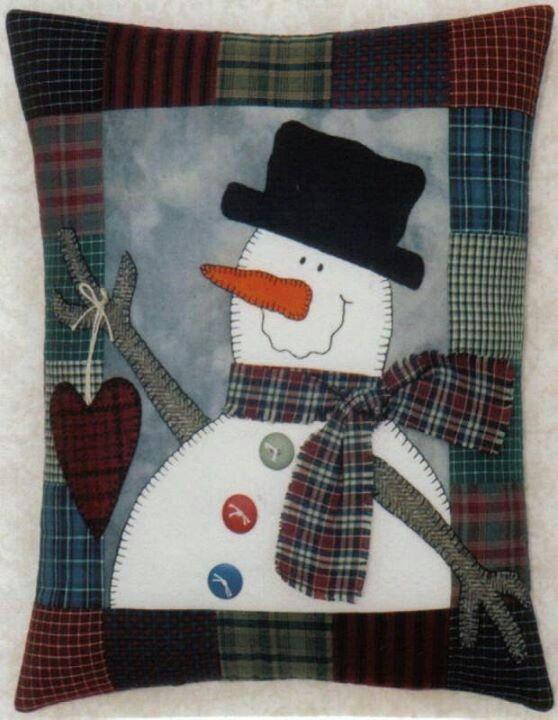 ♥♥♥Snow man pillow