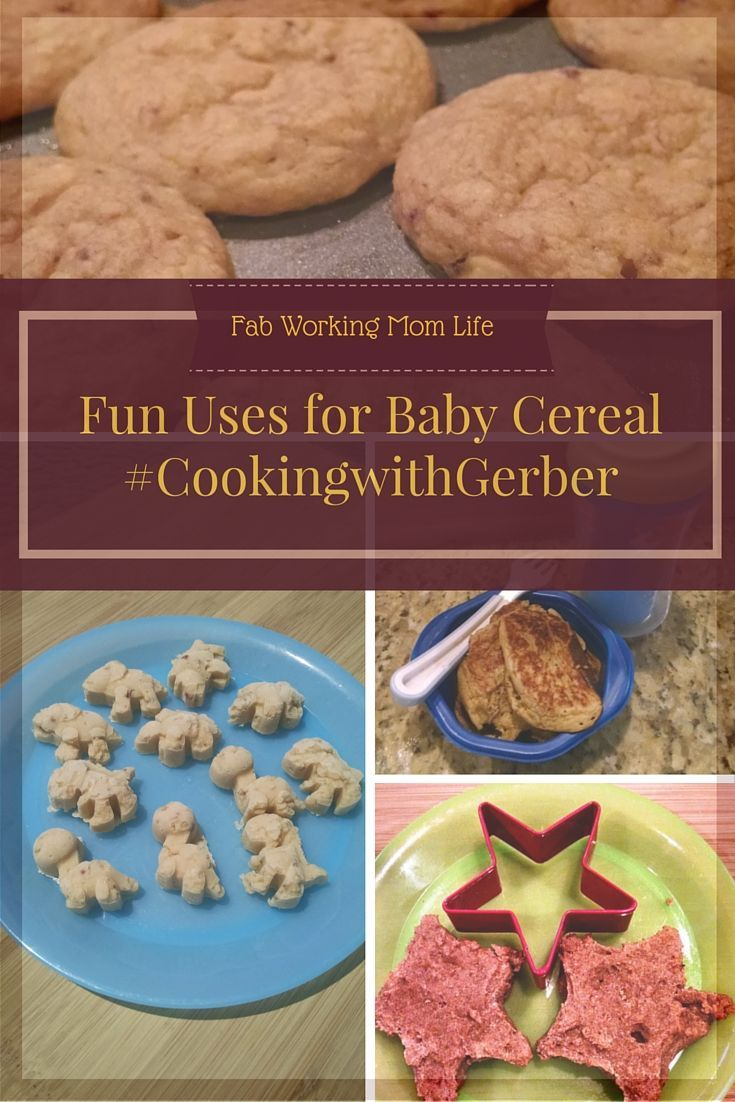Fun Uses for Baby Cereal  What can you cook up with some Gerber baby cereal? #CookingwithGerber (sponsored)