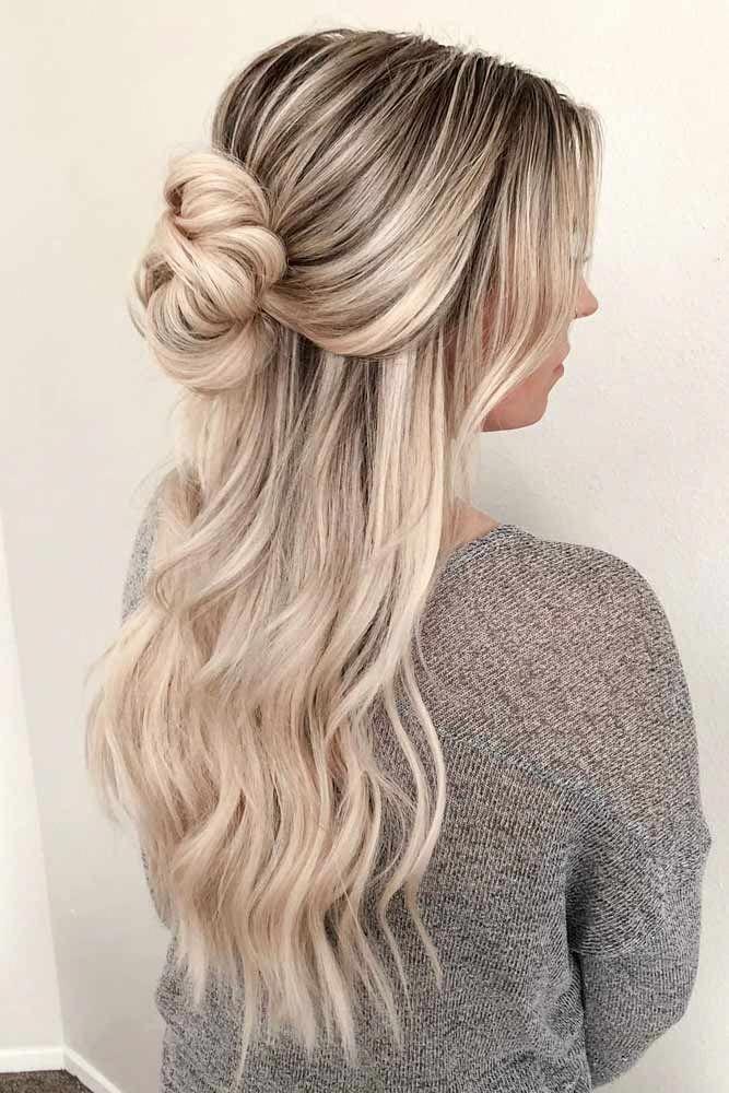 Hair For Long Hair Lengthy Hair Styles Easy Self Updos 20190804 Hair Styles Half Up Hair Long Hair Styles