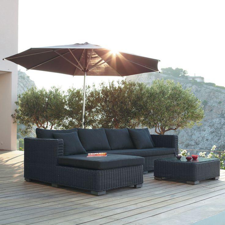Décoration de jardin | Jardin | Canapé angle, Mobilier ...