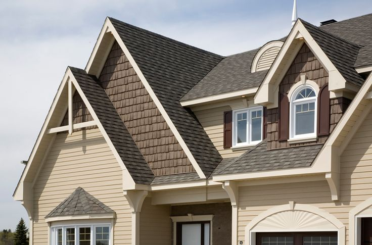 home exteriors with shakes | Vinyl Shakes replicate the appearance of cedar shakes without the ...