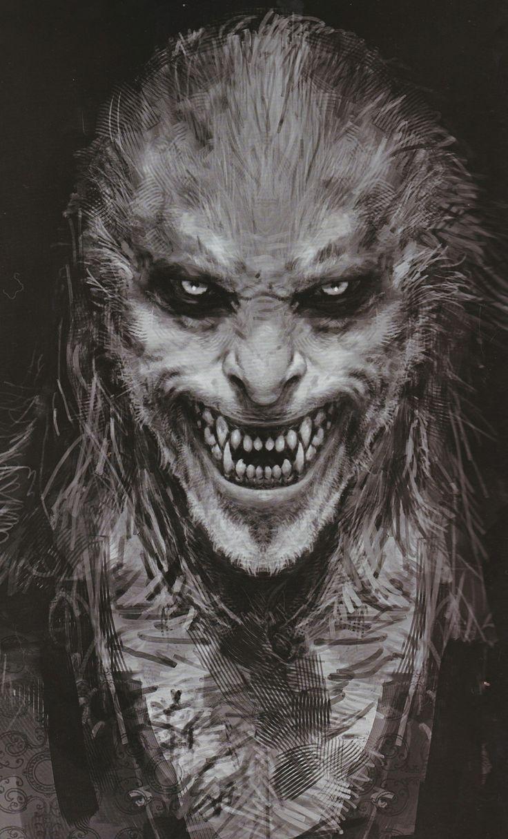 Creepy creature art #drawing #monster #creature #art
