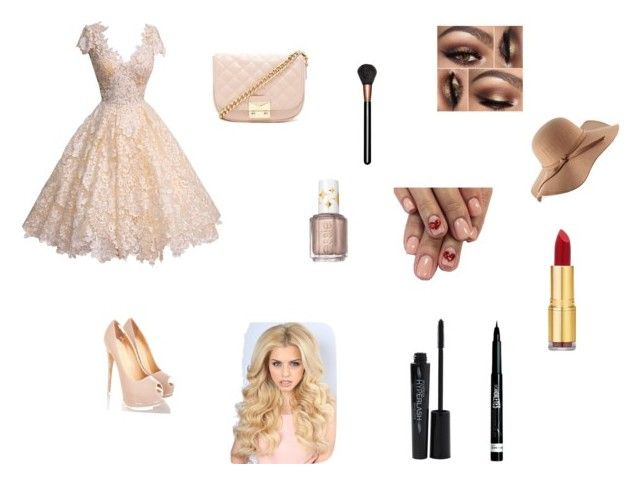 """""""Naar het bal"""" by leoniefabbro ❤ liked on Polyvore featuring interior, interiors, interior design, home, home decor, interior decorating, Forever 21, Smashbox, Rimmel and Essie"""